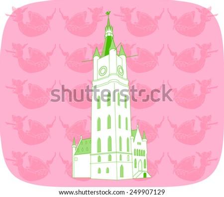 belfort  belfry  bell tower  of