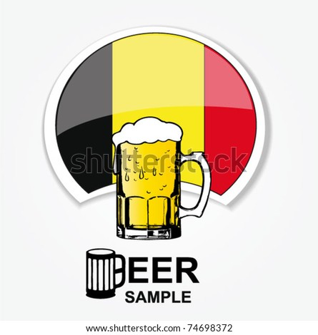 belgian national beer web element