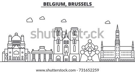 belgium  brussels architecture