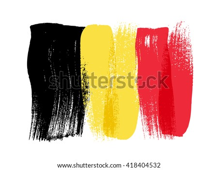 belgium colorful brush strokes