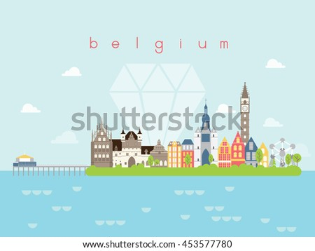 belgium landmarks travel and