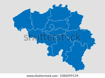 Free Belgium Map Vector Download Free Vector Art Stock Graphics