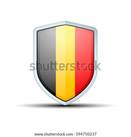 belgium shield sign