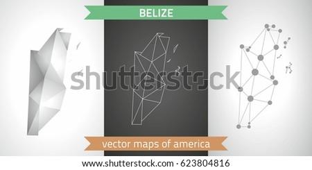 belize grey graphic vector