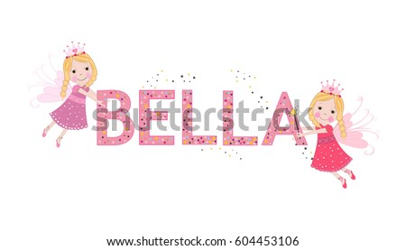bella female name with cute