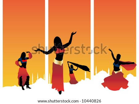 Sexy Belly Dancer Download Free Vector Art Stock Graphics Images