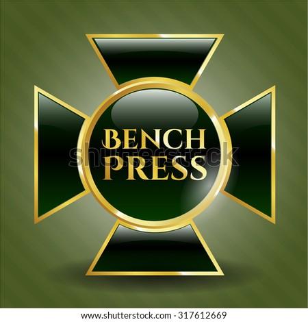 Bench Press gold badge