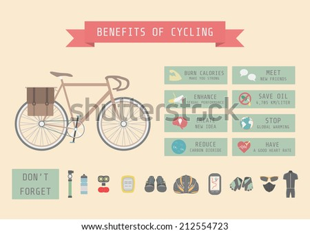 benefits of cycling bicycle