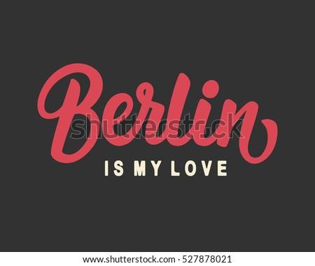 berlin is my love hand