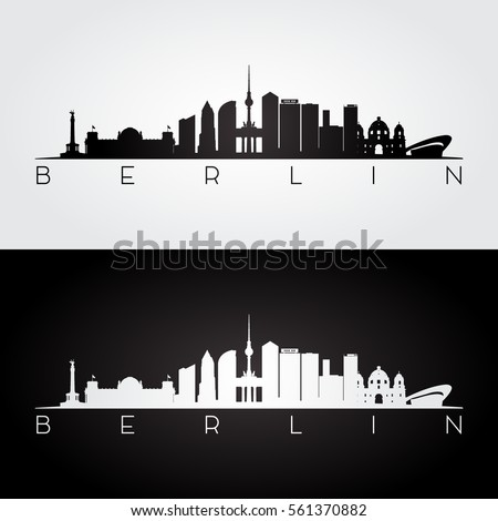 berlin skyline and landmarks