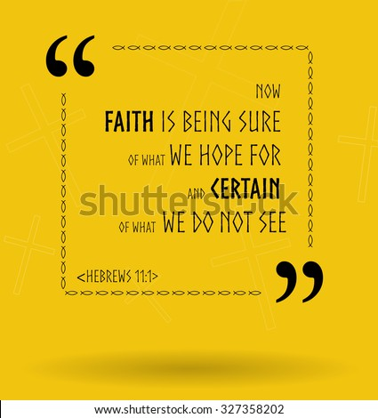 best bible quotes about faith