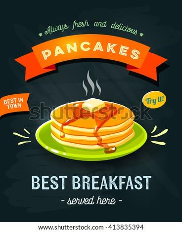 best breakfast   chalkboard