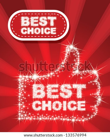 Best Choice - combine by sparkle star