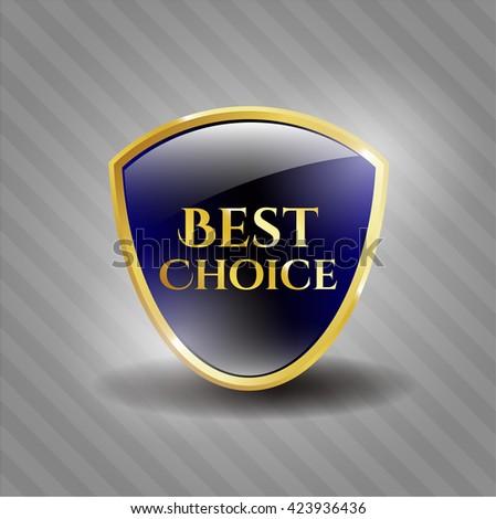 Best Choice golden badge