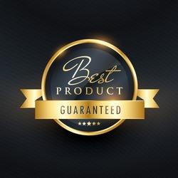 best choice guarantee label design