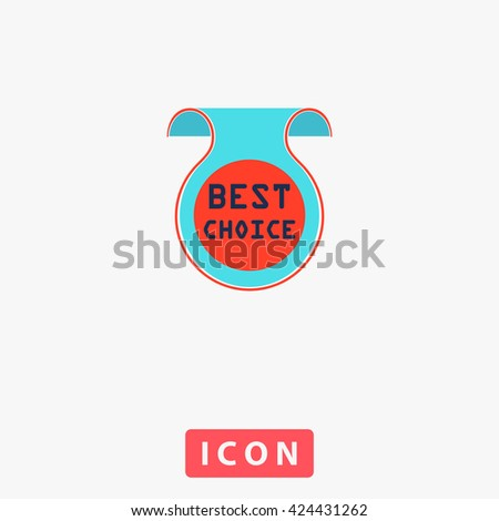 Best Choice Icon Vector.