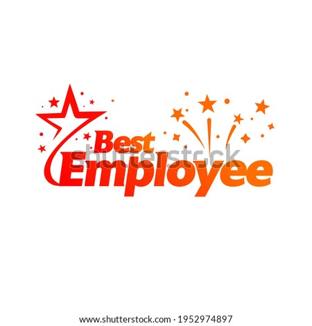Best Employee, Employee of the month award, Employee of the month certificate and celebration