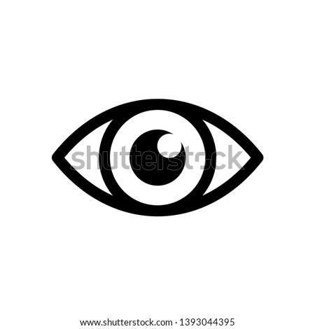 Best Eye Icon Vector Design Template