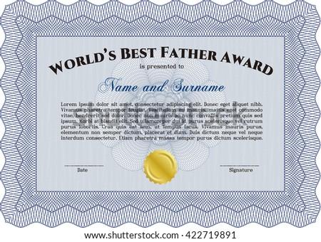 best dad award background download free vector art stock graphics