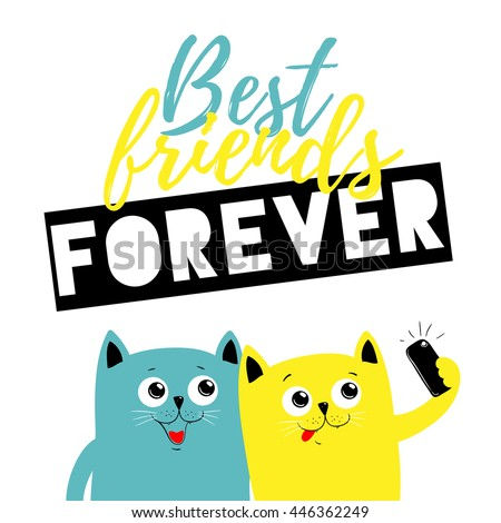 best friend forever cats