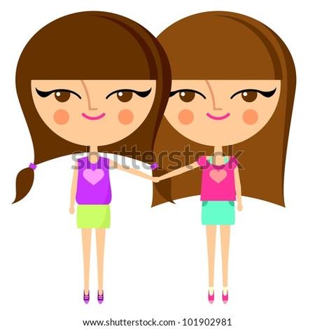 Cute girls holding hands Best Friends Holding Hands Girls