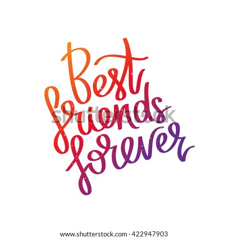 best friends forever the trend