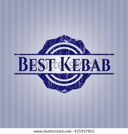 Best Kebab with denim texture