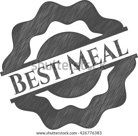 Best Meal draw (pencil strokes)