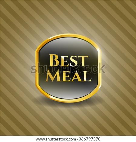 Best Meal golden emblem