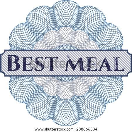 Best Meal rosette