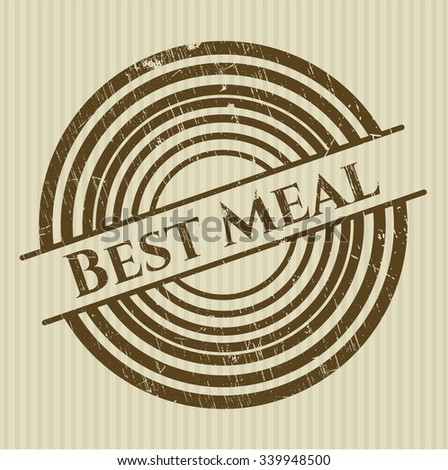 Best Meal rubber grunge seal