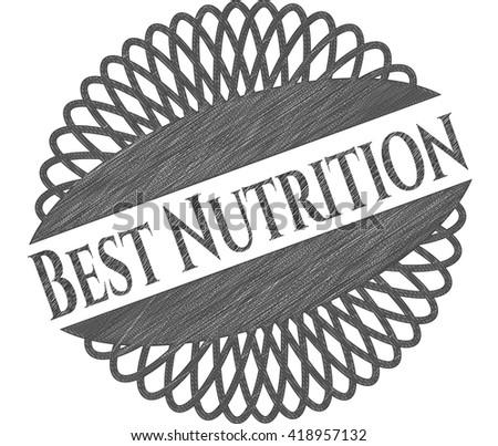 Best Nutrition draw (pencil strokes)
