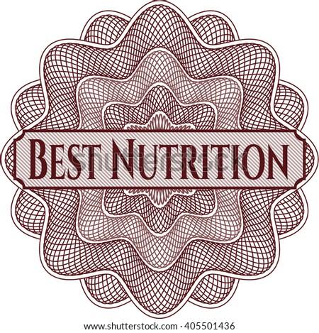 Best Nutrition rosette