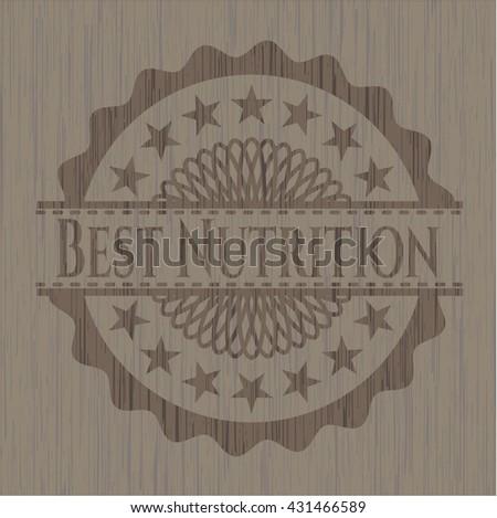 Best Nutrition wooden signboards