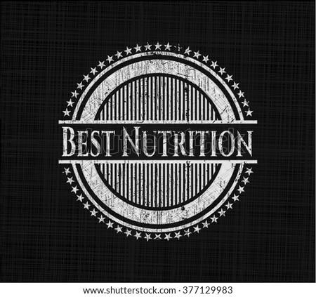 Best Nutrition written on a chalkboard