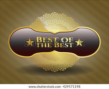 Best of the Best golden badge