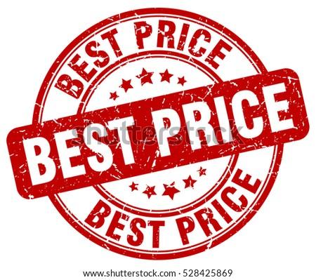 best price. stamp. red round grunge vintage best price sign