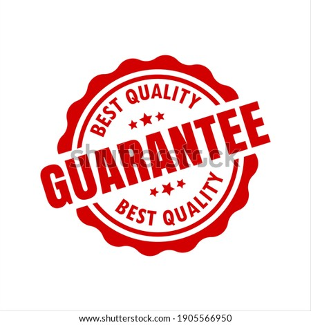 Best Quality Gurantee Red Seal Isolated Vector