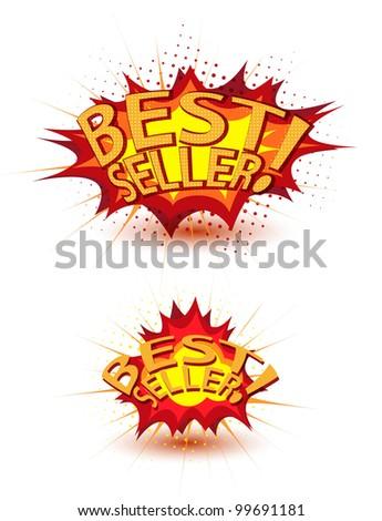 Best seller - stock vector