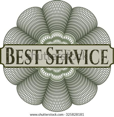 Best Service rosette