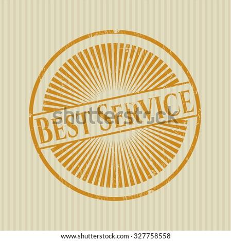 Best Service rubber grunge texture seal