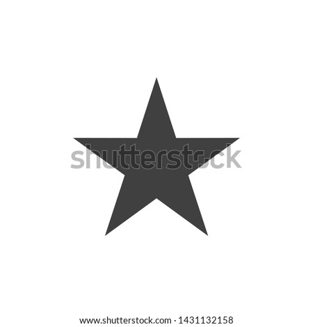 Best Star Icon Vector Illustration
