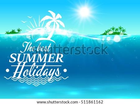 best summer holidays banner