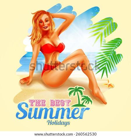best summer holidays blonde