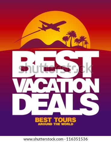 best vacation deals advertising