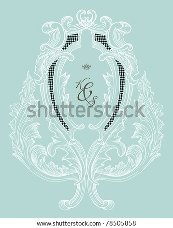 stock vector best wedding invitation card ever