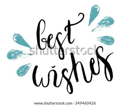 Best Wishes Typographic Labels - Download Free Vector Art, Stock ...