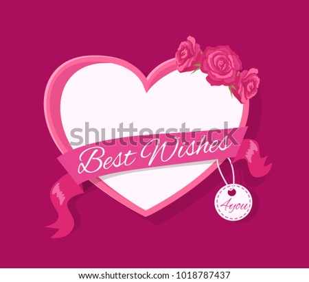 best wishes 4 you greeting card