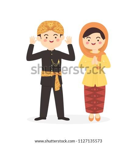 betawi jakarta indonesia couple