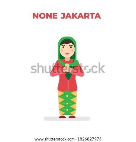 betawi jakarta indonesia women